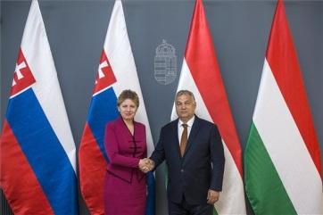 Budimpešta: Klimatske promene, energetika i migracija su bile teme razgovora predsednika Mađarske i Slovačke - A cikkhez tartozó kép