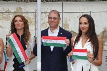 "Mali Iđoš: Otvoren sportski teren zabavišta, poklon Fondacije ""Ovi-Sport"" - A cikkhez tartozó kép"