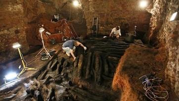 Ezeréves, fából épített várfalakat találtak dél-Morvaországban - A cikkhez tartozó kép