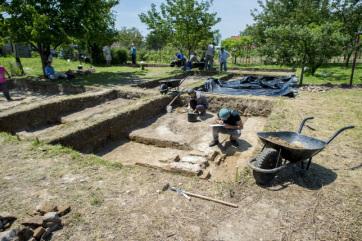 Újabb Szulejmán korabeli épület nyomaira bukkantak Szigetvárnál - A cikkhez tartozó kép