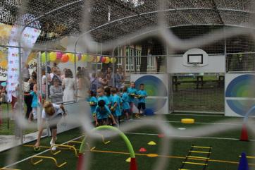 Kishegyesen felavatták az Ovi-Sport Alapítvány sportpályáját - A cikkhez tartozó kép