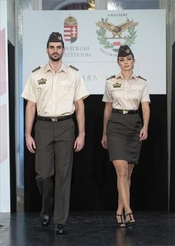 Bemutatták az új honvédségi köznapi egyenruhát - A cikkhez tartozó kép