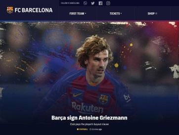 Labdarúgás: Griezmann a Barcelonához igazolt - A cikkhez tartozó kép