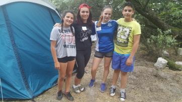 Nagycsaládban élő gyerekek és egykék közös táborozása Horgoson - A cikkhez tartozó kép