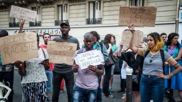 Migránsok foglalták el a párizsi Panthéont - A cikkhez tartozó kép