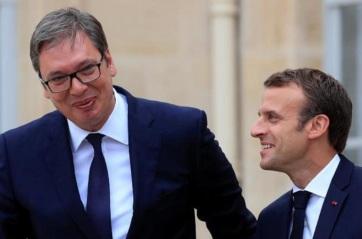 Napi fotó: Emmanuel Macron francia államfő...