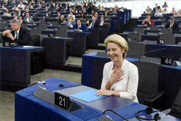 Megválasztották a német Ursula von der Leyent az Európai Bizottság új elnökének - A cikkhez tartozó kép