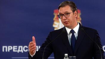 Politikai trükknek nevezte a koszovói kormányfő lemondását Aleksandar Vučić - illusztráció
