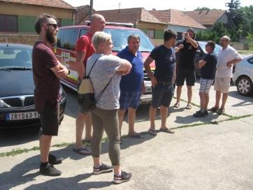 Muzslya: Ajándékot hoztak kollégáiknak a szlovéniai önkéntes tűzoltók - A cikkhez tartozó kép