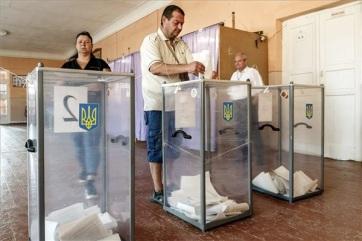 Rendben zajlik a parlamenti választás Ukrajnában - A cikkhez tartozó kép