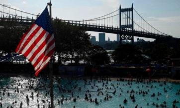 Hőhullámtól szenved az Egyesült Államok keleti partvidéke - A cikkhez tartozó kép