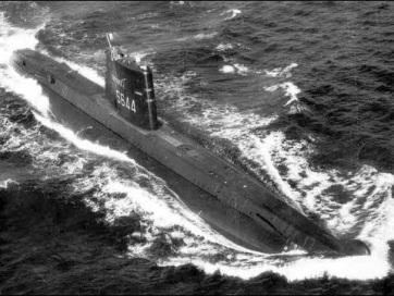 Megtaláltak egy 1968-ban eltűnt francia tengeralattjárót - A cikkhez tartozó kép
