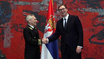Aleksandar Vučić fogadta Oroszország új szerbiai nagykövetét - illusztráció