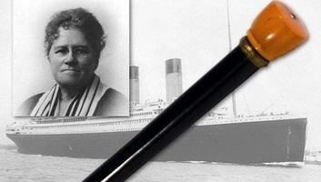 Csillagászati összegért kelt el a sétabot, mely megmentette a Titanic néhány utasát - illusztráció
