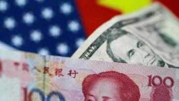 Évtizedes mélypontra esett a kínai jüan a dollárral szemben - A cikkhez tartozó kép