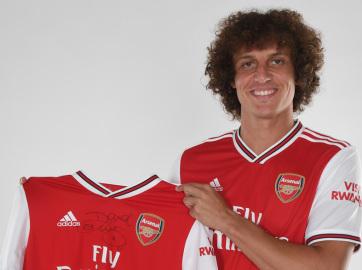 Labdarúgás: David Luiz az Arsenalban folytatja - A cikkhez tartozó kép