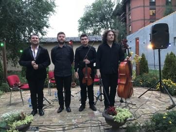 Koncert a szabad ég alatt: A Garden Quartet Óbecsén - A cikkhez tartozó kép
