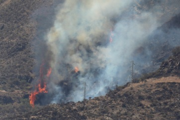 Továbbra is küzdenek az erdőtűzzel Gran Canarián - A cikkhez tartozó kép