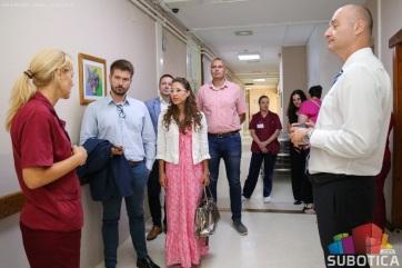 Szabadka: A Gerontológiai Központba látogatott az ENSZ küldöttsége - A cikkhez tartozó kép
