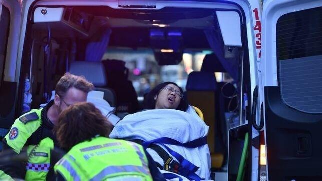Egy nőt kellett kórházba szállítani