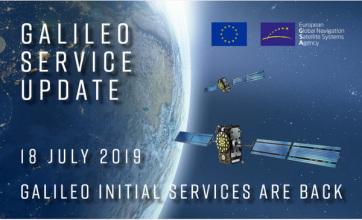 Újra elérhető a Galileo kezdeti szolgáltatása - A cikkhez tartozó kép