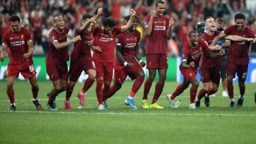 Labdarúgás: A Liverpool nyerte az Európai Szuperkupát - A cikkhez tartozó kép