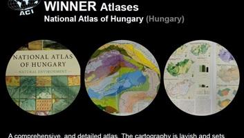 Világelső lett a magyar nemzeti atlasz angol nyelvű kiadása - illusztráció