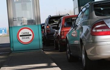 Napi fotó: A horgosi autópálya-határátkelőn a...