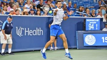 Tenisz: Đoković bejutott a legjobb négy közé Cincinnatiben - illusztráció