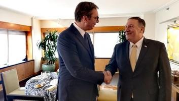 Vučić és Pompeo a koszovói helyzetről - illusztráció