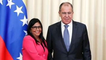 Lavrov a haditechnikai együttműködés folytatásáról állapodott meg Venezuela alelnökével - illusztráció
