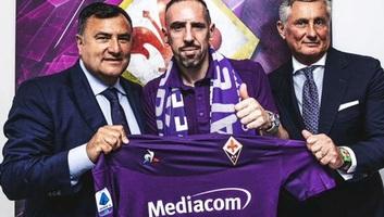 Labdarúgás: Ribéry a Fiorentinához igazolt - illusztráció