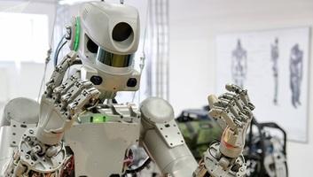 Ember alakú robottal a fedélzetén startolt a Nemzetközi Űrállomásra a Szojuz MSZ-14-es - illusztráció