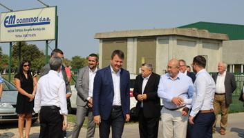 Topolyán járt Pásztor István és Igor Mirović - illusztráció