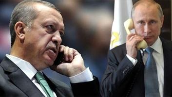 Erdogan komoly aggodalmát fejezte ki telefonon Putyinnak az idlíbi helyzet miatt - illusztráció