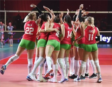 Női röplabda Eb: Magabiztos győzelemmel mutatkozott be a magyar válogatott - A cikkhez tartozó kép