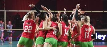 Női röplabda Eb: Magabiztos győzelemmel mutatkozott be a magyar válogatott - illusztráció