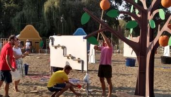 Kanjiža: Igre spretnosti, ili Oasis na obali Tise - illusztráció