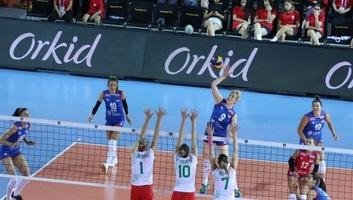 Női röplabda Eb: Második győzelmét is megszerezte a szerb válogatott - illusztráció