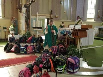 Tanévkezdő szentmise Muzslyán - A cikkhez tartozó kép