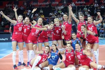 Női röplabda Eb: Szerbia Európa-bajnok! - A cikkhez tartozó kép