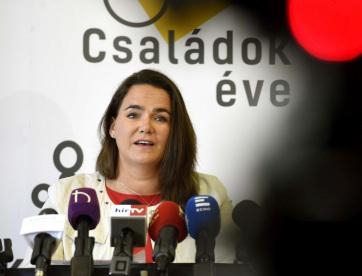 Katalin Novak: Mnogi se interesuju za mađarski model podrške porodicama - A cikkhez tartozó kép