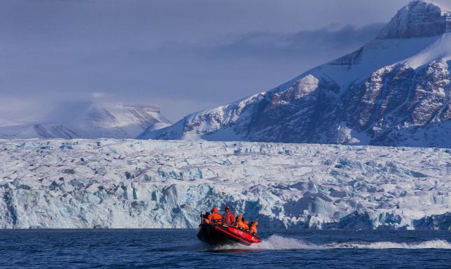 A Spitzbergákat sem kíméli a globális felmelegedés