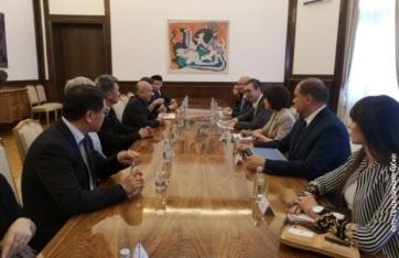 A pekingi Templommúzeum igazgatójával találkozott Vučić - A cikkhez tartozó kép