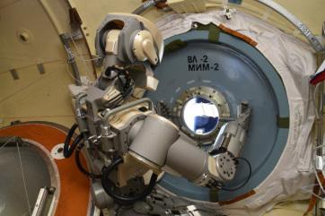 Az orosz robot visszatért a világűrből - A cikkhez tartozó kép