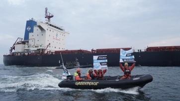 Greenpeace-aktivistákat vettek őrizetbe Gdanskban - A cikkhez tartozó kép