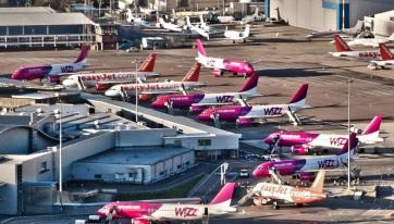 Bővült a budapesti Wizz Air-flotta - A cikkhez tartozó kép