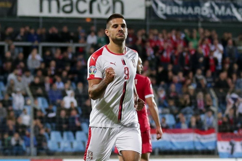 Aleksandar Mitrović két gólt lőtt Luxemburgnak