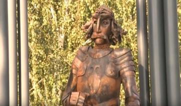 Belgrád: Ismét van kardja Hunyadi Jánosnak, de fából - A cikkhez tartozó kép