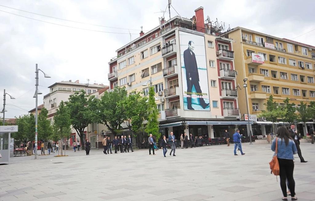 Pristinai belvárosi részlet